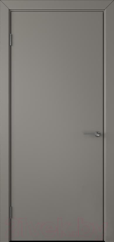 Купить Дверь межкомнатная Юркас, Colorit К6 ДГ 70x200 (темно-серый), Беларусь