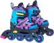 Роликовые коньки Atemi AJIS-19.02 (р-р 35-38) -
