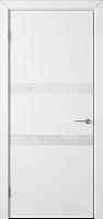 Дверь межкомнатная Юркас Colorit К6 ДО 70x200 (Lacobel белый/белая эмаль) -