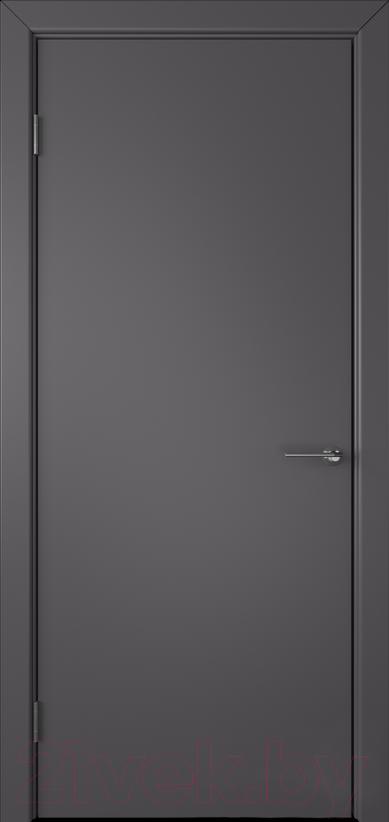 Купить Дверь межкомнатная Юркас, Colorit К6 ДГ 60x200 (графит), Беларусь