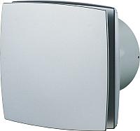 Вентилятор вытяжной Vents 100 ЛДА (матовый алюминий) -