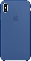 Чехол-накладка Apple Silicone Case для iPhone XS Delft Blue / MVF12 -