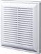Решетка вентиляционная Viento BP вытяжная (150x150, белый) -