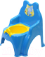 Детский горшок Doloni Слоник / 013317/02/1 (голубой) -