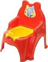 Детский горшок Doloni Слоник / 013317/02/5 (оранжевый) -