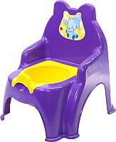 Детский горшок Doloni Слоник / 013317/02/9 (фиолетовый) -
