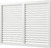 Решетка радиаторная Viento ПВХ 600x900 (белый) -