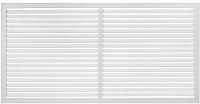 Решетка радиаторная Viento ПВХ 600x1200 (белый) -