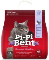 Наполнитель для туалета Pi-Pi-Bent Нежный прованс (5кг) -