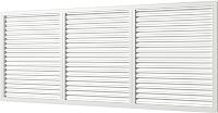 Решетка вентиляционная Viento ПВХ 600x1500 (белый) -