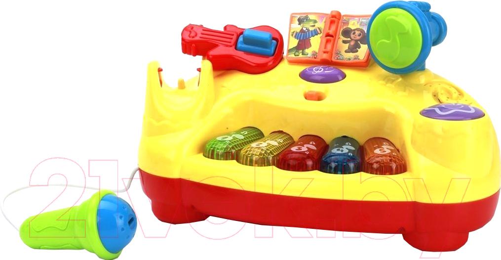 Купить Развивающая игрушка Умка, Пианино с микрофоном / B1025830-R, Китай, пластик