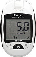 Глюкометр Infopia Finetest Auto-Coding Premium (+ 50 тест-полосок) -