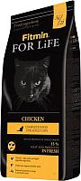 Корм для кошек Fitmin For Life Chicken (8кг) -