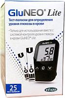 Тест-полоски Infopia GluNEO Lite (25шт) -