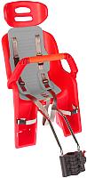 Детское велокресло SunnyWheel SW-BC-137 / 69809 (красный/серый) -