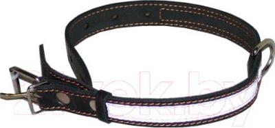Ошейник Collar 2491 (черный, светоотражающая лента) - общий вид