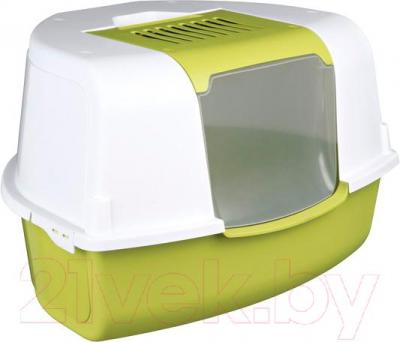 Туалет-домик Trixie Tadeo Open Top 40358 (зелено-белый) - общий вид