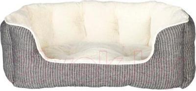 Лежанка для животных Trixie Davin 38974 (серо-кремовый) - общий вид