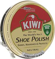 Крем для обуви Kiwi Shoe Polish (50мл, бесцветный) -