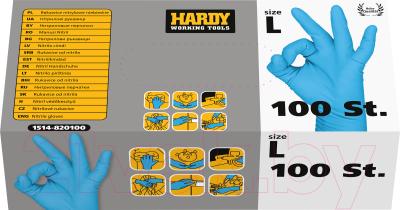 Перчатки защитные Hardy 1514-820101 (100шт)