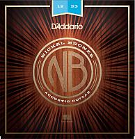 Струны для акустической гитары D'Addario NB1253 -