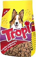Корм для собак Tropi С говядиной (10кг) -