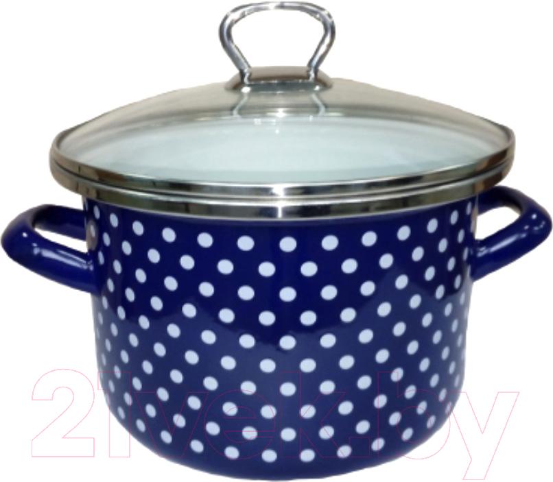 Купить Кастрюля Сантэкс, Горох 1-2240111 (синий), Беларусь
