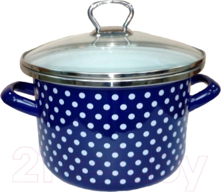 Купить Кастрюля Сантэкс, Горох 1-2250111 (синий), Беларусь