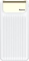 Портативное зарядное устройство Baseus Thin PPYZ-C02 10000mAh / QC3.0 M (белый) -