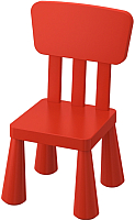 Стул детский Ikea Маммут 003.653.68 -