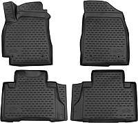 Комплект ковриков Novline ELEMENT3D7519210K для Geely Emgrand X7 (4шт) -