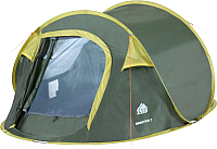Палатка Trek Planet Moment Plus 2 / 70146 (темно-зеленый/светло-зеленый) -
