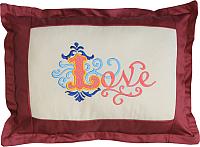 Подушка декоративная MATEX Love / 01-232 (терракотовый) -