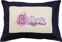 Подушка декоративная MATEX Believe / 00-952 (сливовый) -