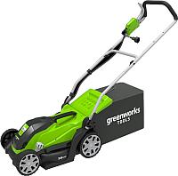 Газонокосилка электрическая Greenworks GLM1035 (2505107) -
