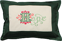 Подушка декоративная MATEX Hope / 00-945 (изумрудный) -