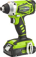 Аккумуляторный шуруповерт Greenworks G24ID (3802207) -