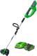 Триммер электрический Greenworks G40LTK3 (2101507UE) -
