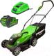 Газонокосилка электрическая Greenworks G40LM35K3 (2501907UE) -