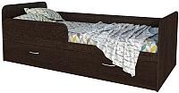Кровать-тахта Интерлиния Анеси-5 (дуб венге) -