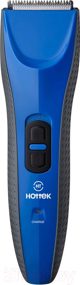 Купить Машинка для стрижки волос Hottek, HT-964-004 (синий), Россия
