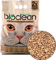 Наполнитель для туалета BioClean Супервпитывающие шарики (6л) -