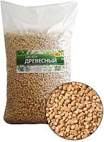 Наполнитель для туалета BioClean Древесный (40л) -