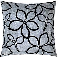 Подушка декоративная MATEX Siena Flowers / 11-309 (серый) -