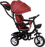 Детский велосипед с ручкой Babyhit Kids Ride (красный) -