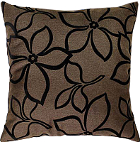Подушка декоративная MATEX Siena Flowers / 12-023 (коричневый) -