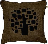 Подушка декоративная MATEX Фьюжн. Древо / 04-424 (коричневый) -
