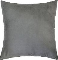 Подушка декоративная MATEX Alcantara / 14-089 (серый) -