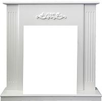 Портал для камина Смолком Capri STD (белое дерево делюкс) -