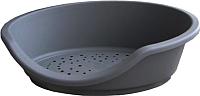 Лежанка для животных MP Bergamo Tino 80 25.52GR01 (серый) -